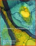 Developing Management Skills, Whetten and Cameron, Kim, 0131542400