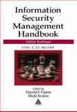 Information Security Management Handbook on CD-ROM, 2004 Edition, Kelly, Laurie and Tipton, Harold F., 0849322405