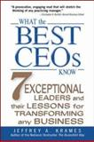 What the Best CEOs Know 9780071382403