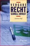 Vergaberecht - Schnell Erfasst, Ruff, Andreas, 3642172407