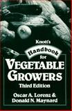 Knott's Handbook for Vegetable Growers, Lorenz, Oscar A. and Maynard, Donald N., 0471852406