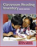 Classroom Reading Inventory, Silvaroli, Nicholas J. and Wheelock, Warren H., 0072322403