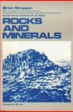 Rocks and Minerals, Simpson, B., 0080302408