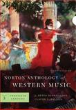 The Norton Anthology of Western Music, Burkholder, J. Peter, 0393932400