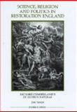 Science, Religion and Politics in Restoration England : Richard Cumberland's de Legibus Naturae, Parkin, Jon, 0861932412