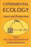 Experimental Ecology : Issues and Perspectives, , 019510241X