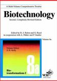 Biotechnology : Biotransformations I and II, Kelly, David R. and Peters, Jorg, 3527302417