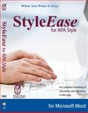 StyleEase for APA Style for MacOS/Word 2011 (DVD Case), StyleEase Software, 0983542414