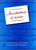 Invitation a Ecrire, Catherine Black and Louise Chaput, 1551302411
