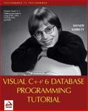 Database Programming with Visual C++ 6.0, Sarrett, Wendy, 1861002416