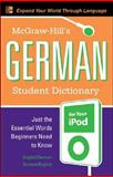 McGraw-Hill's German Student Dictionary for Your iPod (MP3 CD-ROM + Guide), Byrd, Erick P., 0071592423