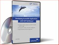 Developing Accessible Applications with SAP NetWeaver, Köble, Josef, 1592292429