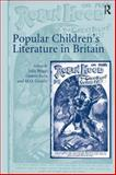 Popular Children's Literature in Britain, Butts, Dennis and Grenby, Matthew, 1840142421