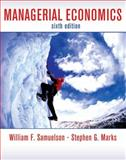 Managerial Economics, Samuelson, William F. and Marks, Stephen G., 0470282428