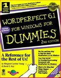 WordPerfect 6.1 for Windows for Dummies, Margaret L. Young, 1568842430