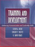 Training and Development : Enhancing Communication and Leadership Skills, Beebe, Steven A. and Mottet, Timothy P., 0205332439