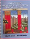Exploring Microsoft Office 97 Professional, Grauer, Robert T. and Barber, Maryann, 0137542437