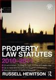 Property Law Statutes 2010-2011, Hewitson, Russell, 0415582431