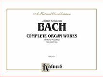 Bach Complete Organ Works, Johann Sebastian Bach, 076924243X