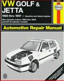VW Golf and Jetta, 1993-1997, Chilton, 1563922444
