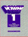 Power Vocabulary : Basic Word Strategies for Adults, Rubin, Dorothy, 0136782442