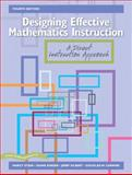 Designing Effective Mathematics Instruction 4th Edition