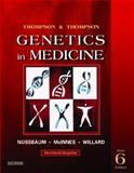 Thompson and Thompson Genetics in Medicine, Nussbaum, Robert L. and McInnes, Roderick R., 0721602444