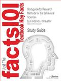 Outlines and Highlights for Research Methods for the Behavioral Sciences by Frederick J Gravetter, Cram101 Textbook Reviews Staff, 1619052458