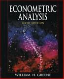 Econometric Analysis, Greene, 0135132452