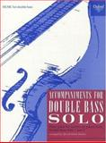 Accompaniments for Double Bass Solo, , 0193222450