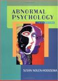 Abnormal Psychology, Nolen-Hoeksema, Susan, 0072562463