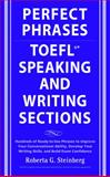 TOEFL Speaking and Writing Sections, Steinberg, Roberta, 0071592466