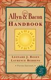 The Allyn and Bacon Handbook (MLA Update), Rosen, Leonard J. and Behrens, Laurence, 0321202465
