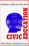 Civic Education : What Makes Students Learn, Niemi, Richard G. and Junn, Jane, 0300072473