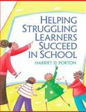 Helping Struggling Learners Succeed in School