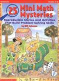 25 Mini Math Mysteries, William Johnson, 0590762478