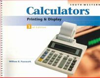 Electronic Calculators : Printing and Display, Pasewark, William R., 0538682477