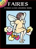 Fairies Stained Glass Coloring Book, Marty Noble, 0486402479