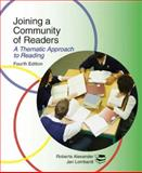 Joining a Community of Readers 4e, Alexander, 0618922474