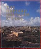 The Harvard Jerusalem Studio : Urban Designs for the Holy City, Safdie, Moshe, 0262192470