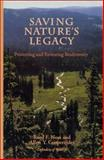 Saving Nature's Legacy : Protecting and Restoring Biodiversity, Noss, Reed F. and Cooperrider, Allen Y., 155963247X