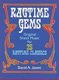 Ragtime Gems, Classical Piano Sheet Music, 0486252485