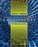 An Introduction to Game Theory, International Edition, Osborne and Osborne, Martin J., 0195322487
