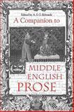 A Companion to Middle English Prose, , 1843842483