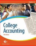 College Accounting, Heintz, James A. and Parry, Robert W., 0324382480