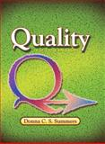 Quality, Summers, Donna C. S., 0131592491