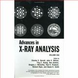Advances in X-Ray Analysis, , 0306442493