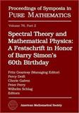 Spectral Theory and Mathematical Physics, Barry Simon, 0821842498