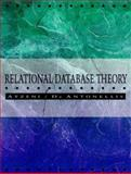 Relational Database Theory : A Comprehensive Introduction, Atzeni, Paolo and Batini, Carol, 0805302492