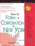 How to Form a Corporation in New York, Brette McWhorter Sember and Mark Warda, 1572482494